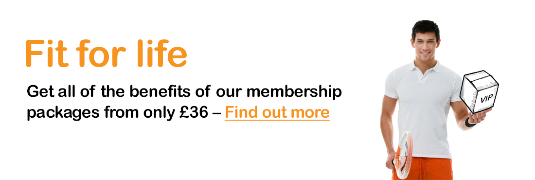 Fit for life membership packages from £36 at Leisure at Cheltenham